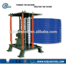 Curved Roofing Panel Making Machine / Arched Steel Sheet Bending Machine