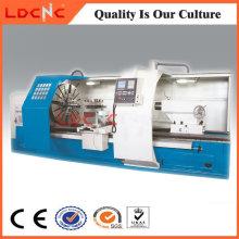 Máquina de torno de torneamento CNC de precisão de alta eficiência da China Ck61100