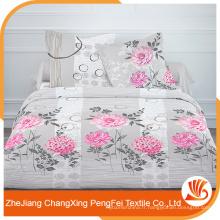Tissu en polyester brossé élastique en tissu de style européen en gros pour la fabrication de draps