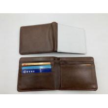 Sublimation Blank Men′s Half-Fold Wallet