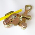 Anti-slip wire grip wire rope grip