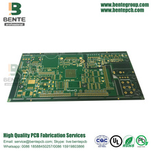 1oz multilayer PCB 6-lagen PCB ENIG 3U