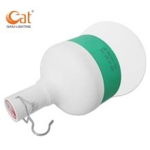 Lâmpada LED de emergência suspensa recarregável de 18 W modos USB
