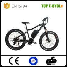 Nuevo diseño 48V 750W 8Fun HD mid drive motor motociclista motocicleta eléctrica fat bike 2017