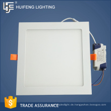 Ausgezeichnete Qualität niedrigen Preis Heiße Verkäufe Standardgröße LED-Panel Lichtgehäuse