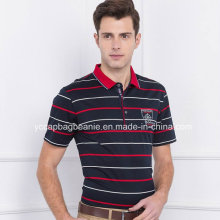 Amerikanisches Männer-Polo-Hemd, Männer-T-Stück Shirt