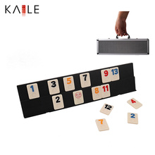106 Outlasting Color Tiles with 4 Anti-skid Durable Trays and Carrying Aluminum Case