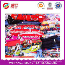 100% polyester woven stock lot of bedsheet fabric