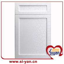 Pvc faced mdf custom cabinet doors