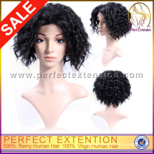 Full And Thick Afro Kinky Curly Human Lace Front Wigs