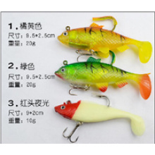 Good Quality Soft Body with Lead Lure 5560