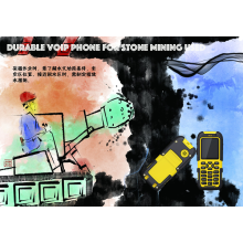 Durable VOIP Phone for Stone Mining Used