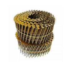 1 1 4 China Cheap Bright Coated Roofing Brass Coil Nail For Malaysia