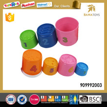 Juguetes plásticos educativos