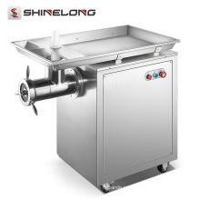 Mini picadora de carne industrial comercial eléctrica profesional de acero inoxidable