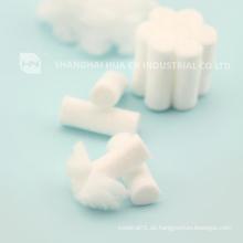 Verschiedene Größen 100% Baumwolle Wundpflege Einweg-Dental-Baumwollrolle