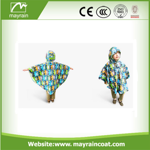 Girls Whaterproof Poncho