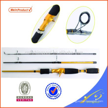 Caña de pescar de carbono TVR010-1 caña de surf SRF travel rod rod