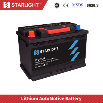 Batterie de voiture 12V 072-20 LiFePO4 (type standard)