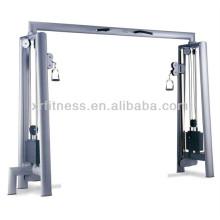Cruzamento do cabo do nome comercial das máquinas do Gym