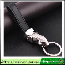 Novo Design moda couro Jaguar Keychain