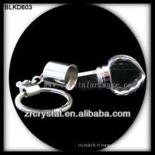 clés USB cristal en forme de coeur BLKD603