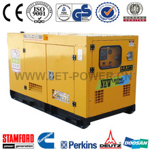 Single Phase Generator 25kVA Silent Canopy Generator From China