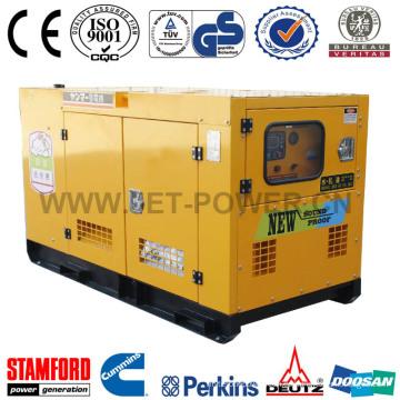 Generador monofásico del toldo silencioso del generador 25kVA de China