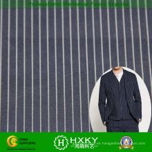 Raya de hilado teñido de tela de poliester de Men′s Casual camisa o chaqueta
