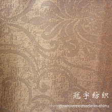 Tecido de veludo cotelê de poliéster e composto com padrão de design