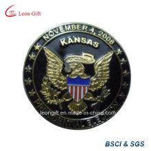Официальное использование металлические эмблемы с мягкой эмалью