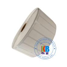 Eco amical personnalisent le fer blanc d'impression thermique thermique d'uniforme scolaire personnalisé sur des étiquettes