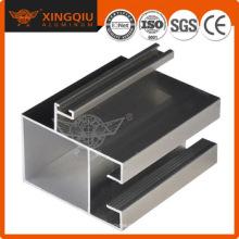 Machined aluminium profiles, aluminium profile system