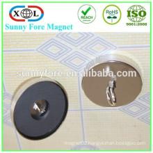 D63mm nickel magnetic ceiling hook