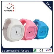 Montres de mode Jelly Digital Silicone Sport Wrist Watch (DC-392)