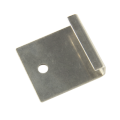 WPC deck used stainless decking clips