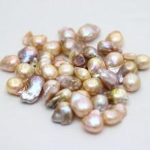 Mehrfarbige Barockkern-Süßwasserperlen Perlen