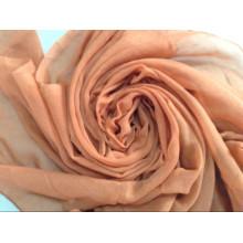 Foulard en satin de polyester imprimé par paon des dames et des filles