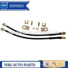 """11"""" length rubber brake hose/brake lines 10MM M10X1.5 BANJO BOLT for GM Universal rear caliper"""