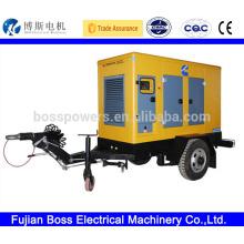 Tous les moteurs brand deisel generator 2 wheel trailer