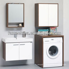 Hot Sale Bathroom white wood bathroom mirror