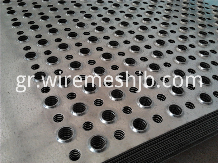 Round Hole Perforated Steel Sheets
