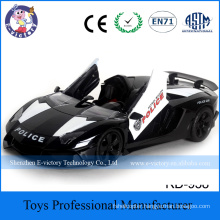 Wholesale 1:12 4CH Plastic Police Model RC Racing Car with Light