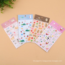 uv protection heat-resistant epoxy sticker custom