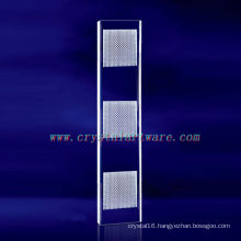 decoration crystal, rectangle crystal pillar