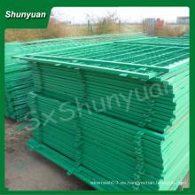 La alta calidad enmarcó la cerca del alambre / el malla profesional enmarcada del panel de la cerca