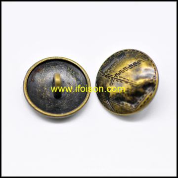 Fashion Metal Shank Button with High Quality
