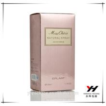 2016 packging perfume competitive price custom logo printed paper box