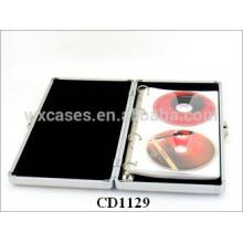Estuches de DVD de alta calidad CD 40 discos aluminio por mayor