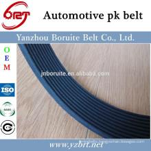 3PK538 rubber auto poly v belt for DAIHATSU CHARADE